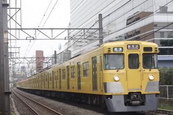 2014年9月8日、高田馬場~下落合、2031F+2511Fの4803レ。