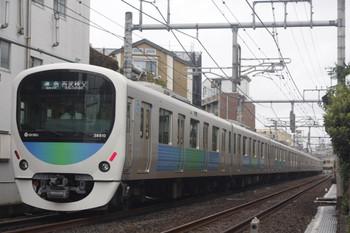 2014年9月25日、池袋~椎名町、38110F+32106Fの西武秩父ゆき準急4209F。