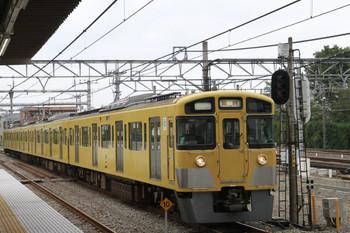 2014年9月27日 14時2分ころ、所沢、2番ホームに到着する「ミステリービアトレイン」の2545F。