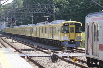 2014年9月28日、仏子、9106Fの2113レ。右に見える東急5050系は、1705レで飯能到着後に小手指車両基地へ回送される途中の5165F。