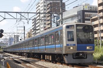 2014年10月7日、高田馬場~下落合、6102Fの2332レ。