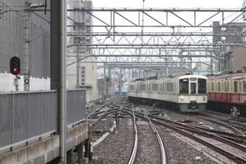 2014年11月1日、池袋、1001レとなるべく池袋駅に到着する4005F+4015Fの上り回送列車。