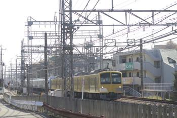 2014年11月23日 10時44分頃、西所沢~所沢、263F+38116Fの下り回送列車。