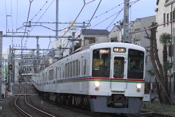 2015年1月1日、池袋~椎名町、4009F+4003Fの1001レ。