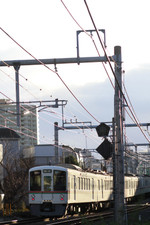 2015年1月1日 7時57分頃、池袋~椎名町、4017F+4015Fの上り回送列車。