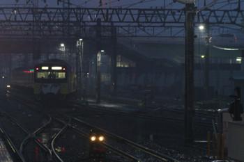 2014年12月20日 16時39分頃、小手指、駅から車両基地へ入る3011F。