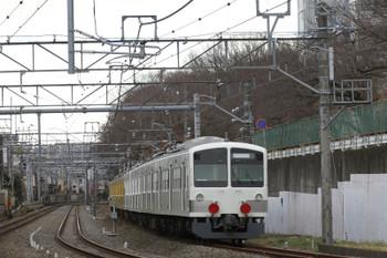 2015年1月17日 12時12分頃、所沢~新秋津、JRへ向かう1253F+263F。