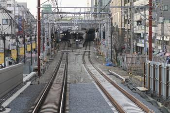 2015年1月25日、大泉学園駅の石神井公園方