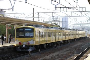 2015年2月10日 9時47分頃、守山、通過する3009F+EF65-2083の下り貨物列車。