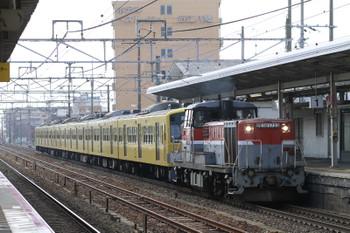 2015年2月10日 12時47分頃、近江八幡、DE10-1733に牽引され京都から彦根へ向かう3009F。