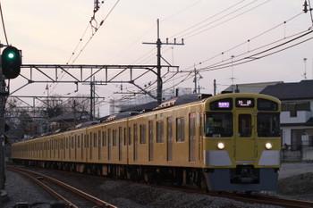2015年2月28日、元加治、1002レの2075F。