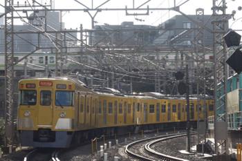 2015年3月11日、高田馬場〜下落合、2417F+2007Fの2612レ。