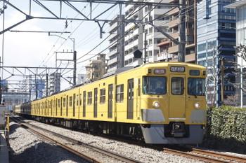 2015年3月24日、高田馬場~下落合、2031F+2523Fの2642レ。