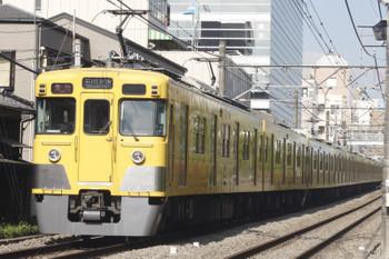 2015年4月30日、高田馬場~下落合、2251レの2401F+2003F。