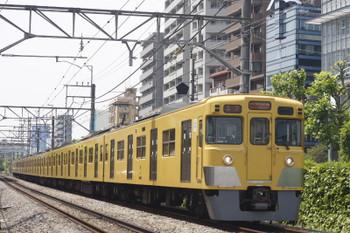 2015年5月15日、高田馬場~下落合、2005Fの5822レ。