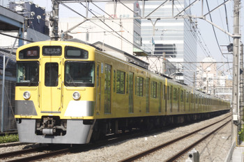2015年5月15日、高田馬場~下落合、2095F+2401Fの2251レ。