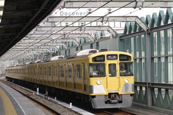 2015年5月17日 6時11分頃、練馬、2089Fの上り回送列車。