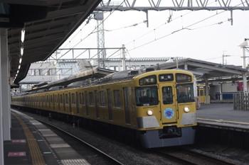 2015年5月18日 5時28分頃、西所沢、9108Fの5103レ。