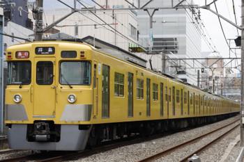 2015年6月5日、高田馬場〜下落合、2031F+2535Fの2327レ。