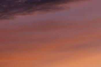 2015年7月15日 19時ころ、西武池袋線元加治駅から見た西の空。