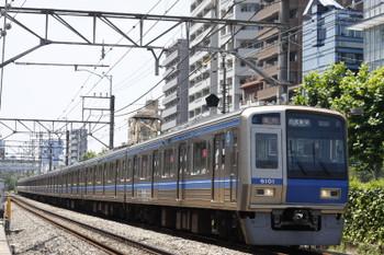 2015年7月10日、高田馬場〜下落合、6101Fの2332レ。