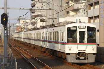 2015年7月11日、中村橋、4009F+4015Fの下り回送列車。