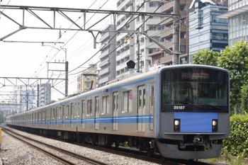 2015年7月27日、高田馬場~下落合、20107Fの2644レ。