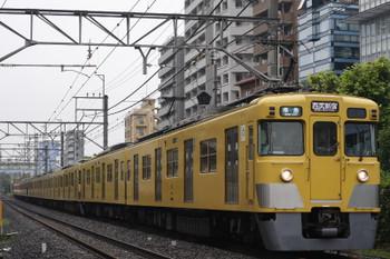 2015年9月1日、高田馬場〜下落合、2409F+2525F+2523Fの4608レ。