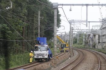 2015年9月16日 15時前、秋津~所沢間、上り列車から撮影。