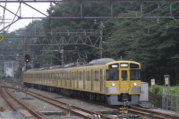 2015年9月27日 8時54分頃、仏子、2049Fの高麗ゆき臨時列車。