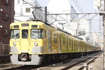 2015年9月28日、高田馬場~下落合、2417F+2093Fの4203レ。