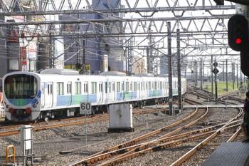 2015年10月18日 14時15分、所沢、6番線から発車した30106Fの池袋方5両。
