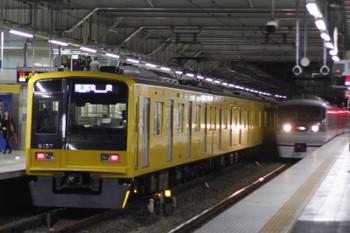 2015年11月5日、所沢、6157Fの3122レ。