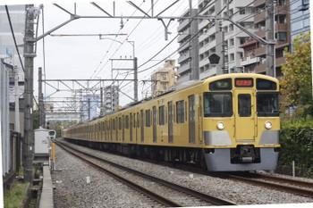 2015年11月12日、高田馬場〜下落合、2057F+2419Fの4608レ。