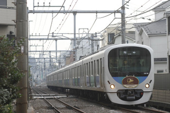 2015年11月7日 7時57分頃、池袋~椎名町、38116Fの下り臨時列車。
