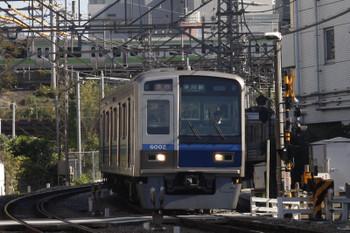 2015年11月16日、高田馬場~下落合、6102Fの2639レ。