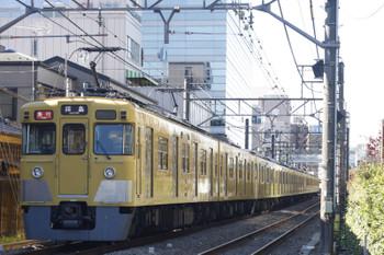 2015年11月27日、高田馬場〜下落合、2411F+2517F+2539Fの2325レ。