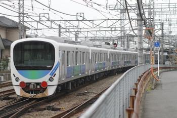 2015年12月13日 11時13分頃、西所沢、38117F+263Fの下り回送列車。