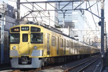 2016年1月14日、高田馬場~下落合、2451F+2057Fの2602レ。