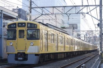 2015年1月15日、高田馬場~下落合、2517F+2541Fの5137レ。