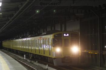 2016年1月16日 6時11分頃、練馬、通過する2533F+2531Fの上り回送列車。