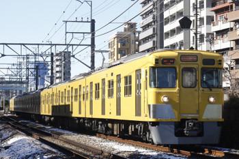 2016年1月19日、高田馬場~下落合、2007Fの5822レ。