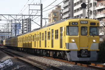 2016年1月21日、高田馬場〜下落合、2007Fの5130レ。
