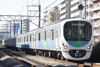 2016年1月27日、高田馬場〜下落合、38117Fの5130レ。