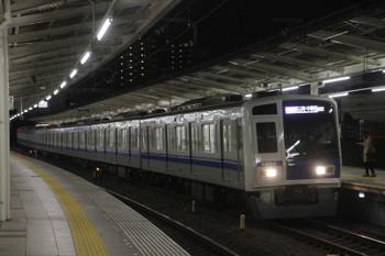 2016年1月30日、入間市、6154Fの08M運用・1724レ。