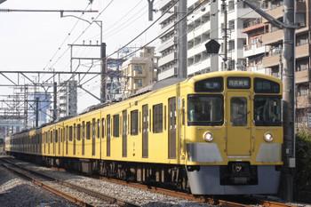 2016年2月4日、高田馬場~下落合、2057Fの5130レ。