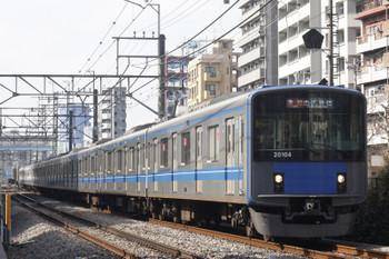 2016年2月4日、高田馬場~下落合、20104Fの2644レ。