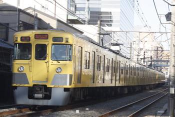 2016年2月5日、高田馬場~下落合、2027F+2419Fの5251レ。