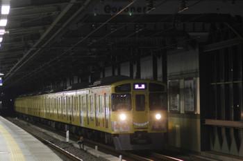 2016年2月6日 6時11分頃、練馬、通過する2069Fの上り回送列車。