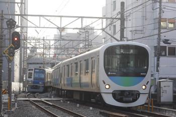 2016年2月18日 8時29分頃、高田馬場~下落合、38102Fの下り回送列車。